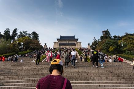 Final resting place of Sun Yat-sen